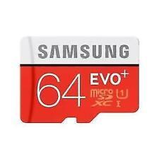 Memoria microSDHC Samsung Evo 64GB clase 10
