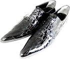 ORIGINAL CHELSY Italiano Diseñador COCODRILO HECHO A MANO Croco Zapatos