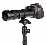 Teleobjektiv 420-800mm für Sony E-Mount Alpha 3000 5000 5100 6000 6100 6300 6500