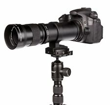 SUPER Tele 420-800mm per Sony A-Mount Alpha 58, 65, 65v, 77, 99, 77-ii, ecc Nuovo!