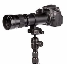 Super Tele 420-800mm for Sony A-Mount Alpha 100, 200, 230, 290, 290L, etc... NEW