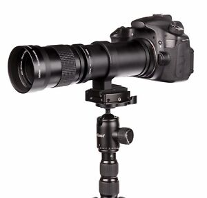 Supertele Teleobjektiv 420-800 mm für Canon EOS 1200D EOS 70D EOS 100D EOS 650D