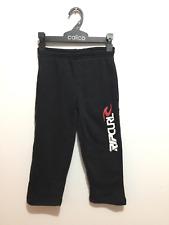 RIP CURL Kids Boys Fleece Track Pants Joggers Trousers Casual Sweatpants Size 4