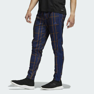 adidas Men's Tiro Tartan Plaid Zip Pocket Pants