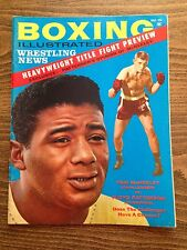 Boxing Illustrated December 1961 Tom McNeeley Floyd Patterson