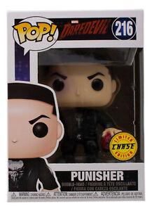 Marvel Daredevil The Punisher Chase Funko Pop! Vinyl Figure #216