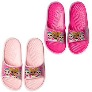 L.O.L. Surprise! Lol Girl's Sliders Flip Flops Sandals Summer Shoes 10-3 UK