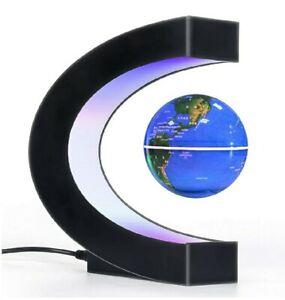 magnetic levitation floating globe world map