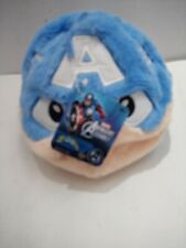 "Marvel Captain America Fuzzbies Plush -5"" NWT"