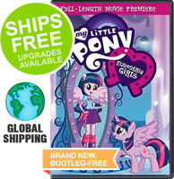 My Little Pony Equestria Girls (DVD, 2013) NEW, Cartoon, Animated, Full Movie