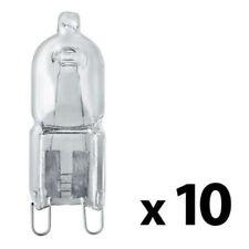 10 x G9 28w = 40w DIMMABLE ECO HALOGEN ENERGY SAVING bulbs Capsule 240V