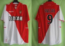 Maillot As Monaco Fedcom Falcao Vintage #9 Football Jersey Macron - XXL