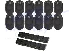 12-PACK MOTOROLA CLP1010 TWO WAY RADIO UHF 1W  + 2 BANK CHARGERS DENTAL OFFICE
