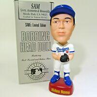 HIDEO NOMO LA Dodgers S.A.M. SAM Bobblehead NODDER in BOX porcelain LTD ED #1508