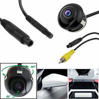 Universal Rotates 360°CCD HD Car reversing Camera Reverse Side Parking Rear View