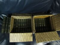 The Harvard Classics 1937 Deluxe Registered Edition Leather Set 19 Books