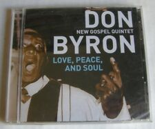 DON BYRON NEW GOSPEL QUINTET (CD) LOVE PEACE AND SOUL -  NEUF SCELLE