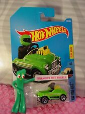 PEDAL DRIVER #301✰Green/yellow/chrome;5sp✰HW Ride-Ons✰2017 i Hot Wheels case N