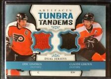 2013-14 Artifacts Tundra Tandems Jerseys Blue #TTLG Lindros / Giroux B Flyers
