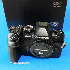 Olympus E-M1 Mark II Only Body 4K Recording 5-Axis I.S 34 Languages Selectable