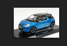 Citroen DS3  2011 Belle IIe Blue with black roof   1/18 181539 norev