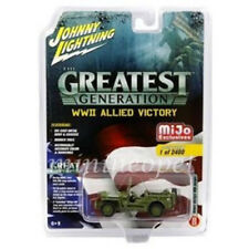 JOHNNY LIGHTNING JLCP7051 WWII ALLIED VICTORY MILITARY 1/64 JEEP WILLYS POLICE