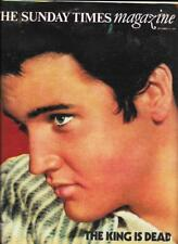 Elvis Presley : The King Is Dead : The Sunday Times Magazine : 11 September 1977