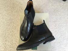 Clarks Bushwick Hi Mens Formal Boots Chelsea Boots Black Leather Size 9 NEW BOX