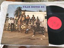 """FAJA DOTIE 81 VINYL LP RECORD 12"""""""