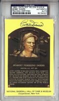Bobby Doerr Signed Autographed Hall of Fame Postcard Boston Red Sox PSA 83184307