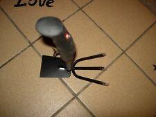 BLACK & DECKER STEEL GARDEN TOOL--RUBBER HANDLE--#B45