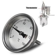 Acier Inoxydable Thermomètre pour Home Brew vin de fruits eau alcool distillateur