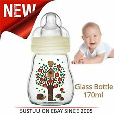 MAM Feel Good Glass Bottle 170ml│HighlyTemperature-Resistant│Silk Teat│Premium