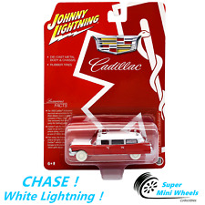 CHASE ! White Lightning ! 1:64 - 1959 Cadillac Ambulance (Red)