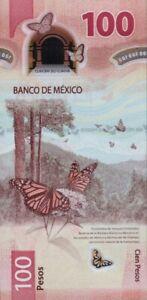 MEXICO 100 PESOS 2020 P-NEW UNC AD SERIES