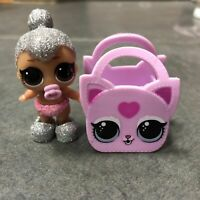 With bag lol sorpresa Muñeca Lil Kitty Queen Muñeca Xmas Gift cambiador de color