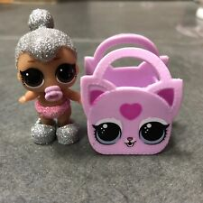 LOL Surprise Doll Lil Kitty Queen With bag Ultra Rare Color Changer xmas gift