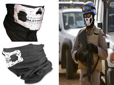 Cool Tubular Skull Ghosts Mask Bandana Motorcycle Sport Scarf Neck Halloween