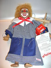 Sigikid Künstlermarionette Clown von Gabriele Brill  Limitiert 101/1000