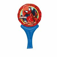 "Spiderman 12"" Inflate-A-Fun Foil Balloon - Marvel Superhero Birthday Party"