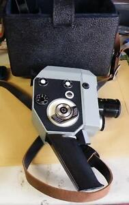 Vintage Quarz 5 cine camera with accessories and case (B)