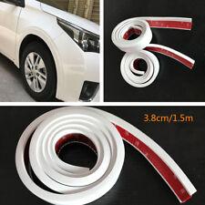 2pcs 1.5M Car Extension Wheel Eyebrow Arch Trim Fender Flares Protector Strip