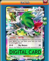 Shaymin EX 77/108 XY Roaring Skies PTCGO Online Digital Card