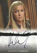 Supernatural Seasons 1 - 3 Katie Cassidy as Ruby A05 Auto Card