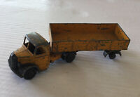 Dinky Supertoys Bedford Articulated Lorry Yellow