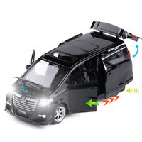 Toyota Alphard MPV 1:32 Diecast Model Car Toy Collection Light&Sound Best Gift