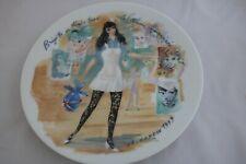 D'Arceau Limoges Women of the Century Brigitte 1965 Collectors Plate