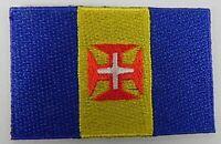 Madeira Aufnäher gestickt,Flagge Fahne,Patch,Aufbügler,6,5cm,neu