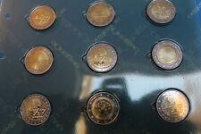 SLOVENIA SERIE COMPLETA 2 EURO DAL 2007 AL 2011 FDC  DIVISIONALI E COMMEMORATIVE