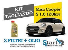 Kit Tagliando Olio Castrol + Filtri Tecneco Mini Cooper S 1.6 120KW